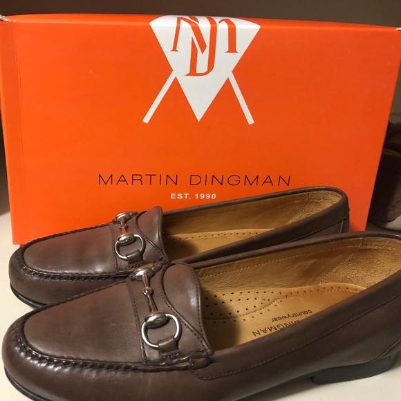 Martin Dingman Saxon Dress Bit Loafer